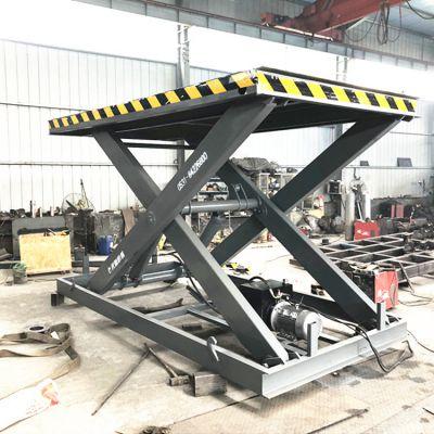固定剪叉式升降机 载重2吨电动升降卸猪台生产厂家