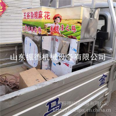 安徽 小麦面粉膨化机 小米粒 玉米膨化机厂家 大米江米棍机 振德 低价促销
