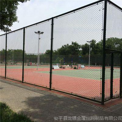 球场护栏网图片 网球场围网材料 球场围网施工图