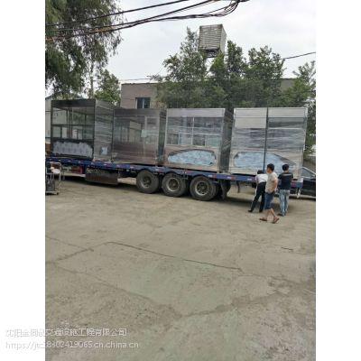 吉林不锈钢岗亭厂家—四平停车场收费亭/我厂低价批发