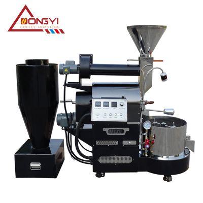 批发咖啡烘焙机食品机械新款咖啡豆烘焙机东亿2公斤烘豆机 南阳东亿