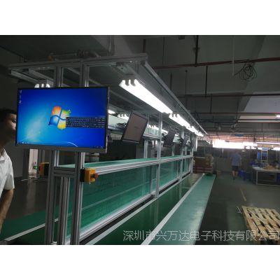 兴万达/生产看板管理系统/生产看板信息追溯/工业液晶电视机看板/不良品计数