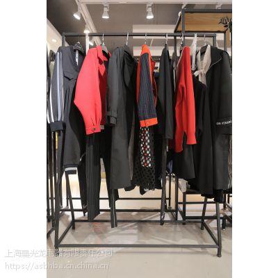 宝贝玛丽广州品牌折扣女装加盟折扣 陕西女装品牌尾货批发深蓝色雪纺衫