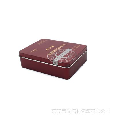 棉元素内裤铁盒包装 通用衣服袜子铁盒定制 厂家批发定做小铁盒