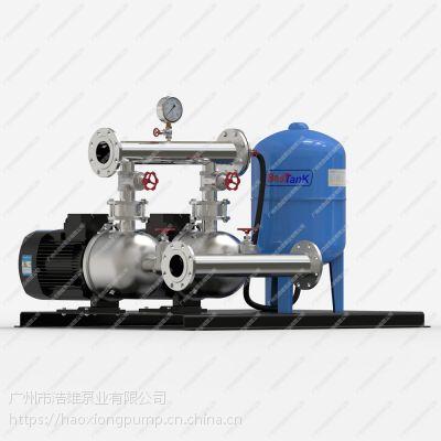 卧式不锈钢变频机组,全自动变频增压机组,广州ECM恒压变频供水设备