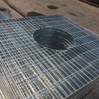 航佳金属网 热镀锌钢格板 格栅盖板厂家