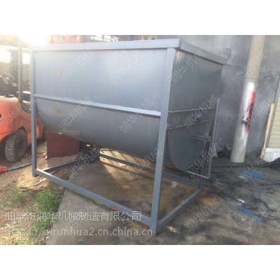低耗能猪饲料搅拌机 5立方大型卧式拌料机 小猪养殖搅拌机