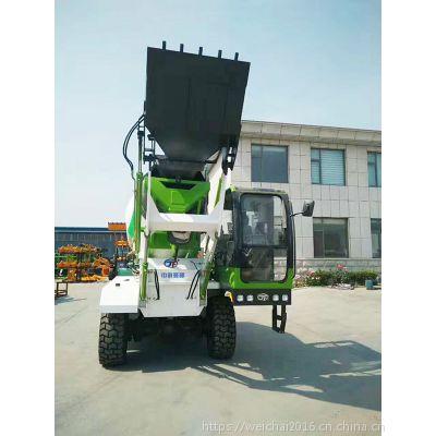 西藏地区3.2方全自动上料混泥土搅拌车 自上料混凝土搅拌运输车