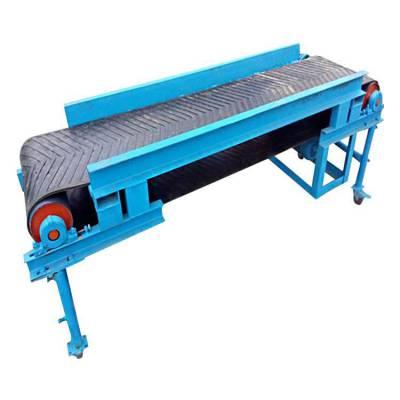 轻型挡边输送机专业生产 小麦输送机