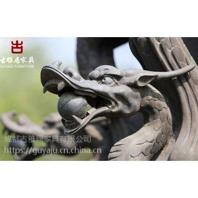 四川雕塑泥塑厂,GRC栏杆假山人物定制