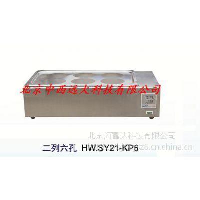 中西 水浴锅(两列六孔 型号:BC1-HW.SY21-KP6库号:M262412