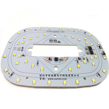 供应触摸化妆镜线路板,无极调光功能,LED镜子灯控制板-深圳市丽晶微电子
