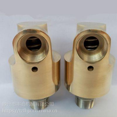 HD型通水玻璃扫光机铜水空气油滕州3分4分6分8分1寸到3寸旋转接头