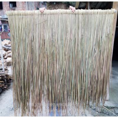 山西省经济区天然茅草多少钱一片?防腐吗?寿命可用多久?