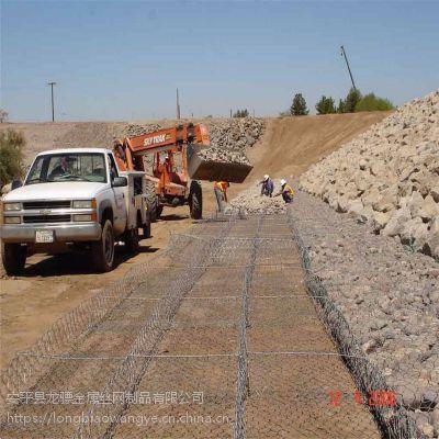 防汛石笼网 高锌格宾网 河道防护镀锌格宾网