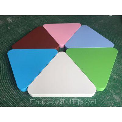 急需订购'七彩糖果铝单板'三角铝板_百花争艳