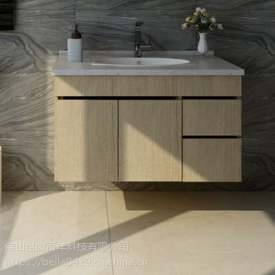 尚百年全铝家居铝制板式家居耐用防潮防水北欧风格洗手盆型材厂家直销