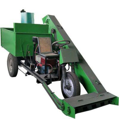 机动三轮刮粪清粪车 节能除臭清粪车 大中小型养殖场内清理机