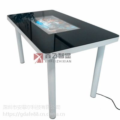 青岛智能餐桌XF-GG32触控餐桌智能奶茶桌智慧餐厅
