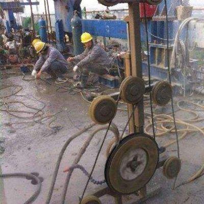 萍乡电梯井改造公司-绳锯切割加固