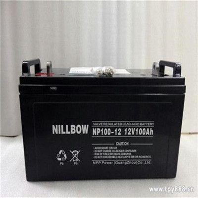 力宝蓄电池12V150AH NILLBOW品牌 力宝免维护蓄电池批发商