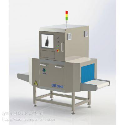 X射线食品异物检测机 日联UNF6040异物检测机 罐头包装食品异物检测机