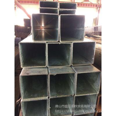 佛山镀锌方管 Q235B锌管 热镀方矩管