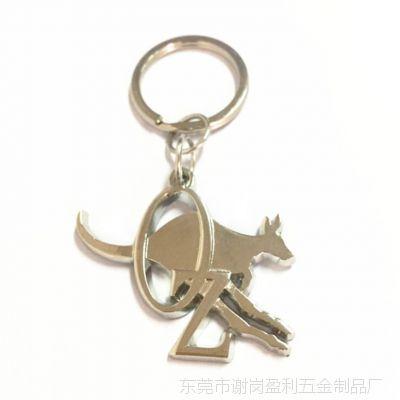创意可爱宠物狗金属钥匙扣生肖狗时尚包包汽车挂饰小商品批发定制