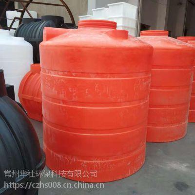 广东华社5立方加厚塑料水塔防紫外线防老化pe水箱厂家直供