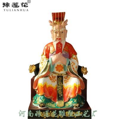 四海龙王佛像雕塑厂家四海龙王彩绘价格佛像一米三高