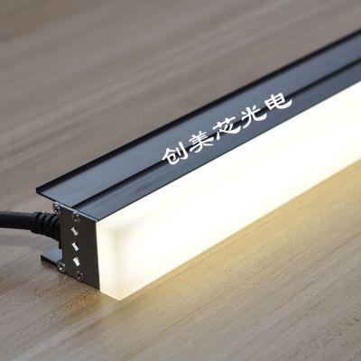 创美芯光电LED贴片线条灯_通体发光线条灯_无暗影对接线条灯