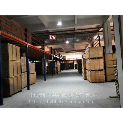 佛山二层货架阁楼组合货架(增加N倍仓储量)佛山二层货架