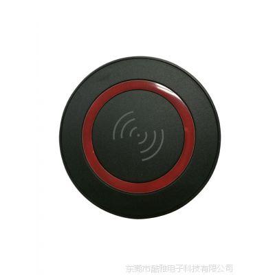 新款圆形超薄手机无线充电器5W QI圆形通用无线快充批发