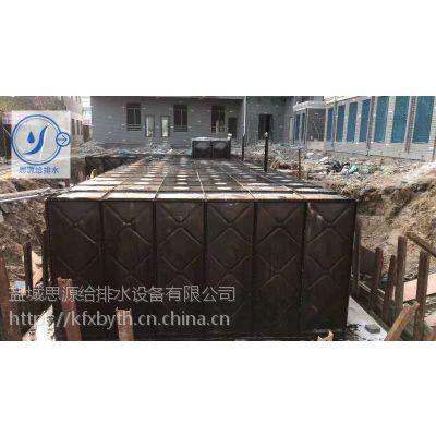 108吨大模块水箱抗浮式箱泵一体化消防水池