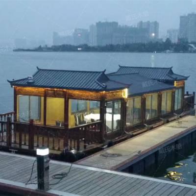 陕西陕西哪里有表演画舫木船卖 高端表演船定制厂家