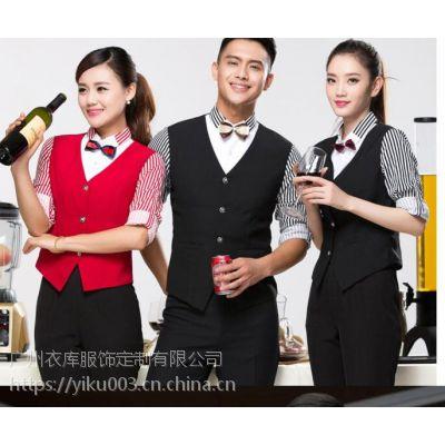 广州清吧商务马甲定制,广州音乐吧时尚马甲定制,胡桃里音乐吧