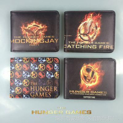美国电影 饥饿游戏3 周边 徽章 学舌鸟嘲笑鸟 钱包 Hunger Games
