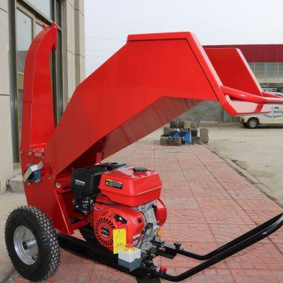 新型可移动式树枝粉碎机电动柴油汽油三种动力