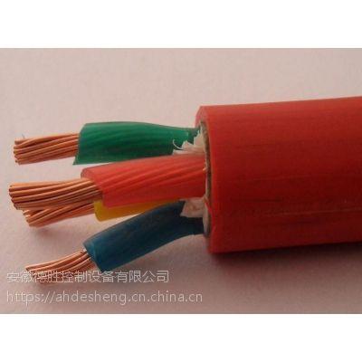 德胜KGGP铜芯硅橡胶绝缘护套编织屏蔽控制电缆2*10mm2价格合理的