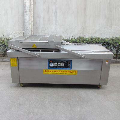 坤泰DZ-800鸡肉真空包装机 双室真空包装机