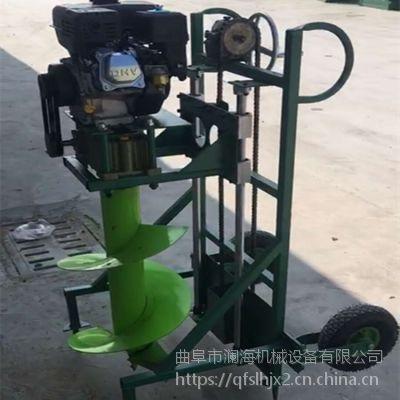 汽油植树挖坑机 大功率手提式果树移植挖坑机
