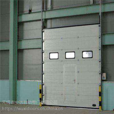 吉安达抗风防盗工业提升门