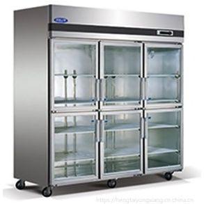 格林斯达/星星六门冷藏展示柜 SG1.6L6-X六玻璃门食物保鲜柜 饮料陈列柜