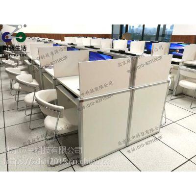 杭州文渊中学-升降屏风电脑桌-河南应中科技