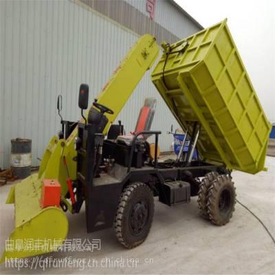 车载式牛场刮粪车 大型牛场粪便清理车 粪便刮粪机