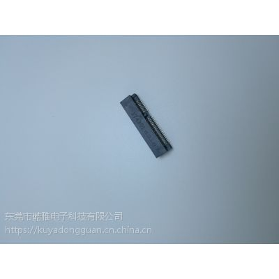 原装LOTES M.2插槽 NGFF SSD 接口 67PIN H4.2 A B E M GKEY位