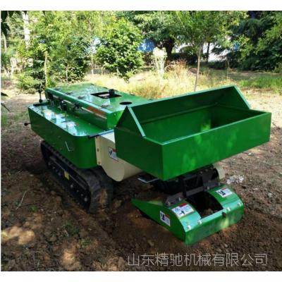 果树施肥专用 履带式田园管理机 果园施肥开沟机