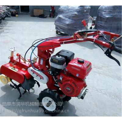 低矮果园施肥开沟机 柴油封葱培土机 值得信赖的田园管理机
