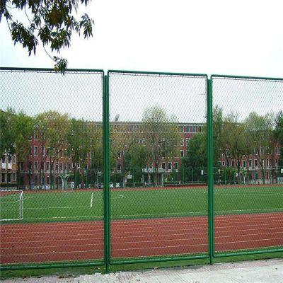 篮球场铁丝围网 运动场围网价格 篮球场防护网