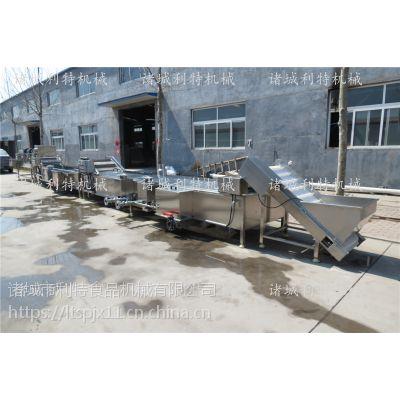 龙虾蒸煮生产线 小龙虾蒸煮机 龙虾加工设备厂家